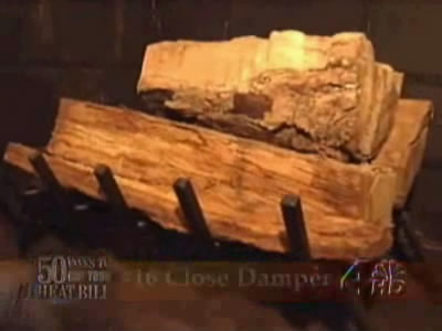 Unless you are burning wood, keep your fireplace damper closed