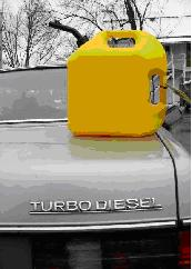 Fuel can with BioDiesel
